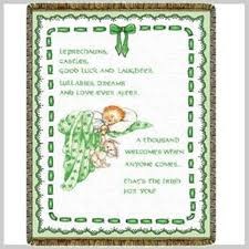 blessing baby baby tapestry throw