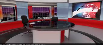 News Studio Desk by The Big Bbc News Studio Refresh Mock Thread Mk 2 Equipped With A