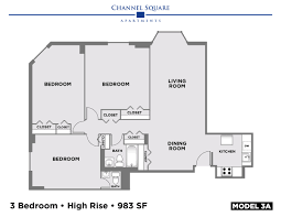floor plans u2013 channel square apartments