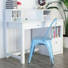 blue writing desk belham living florence writing desk with optional hutch hayneedle