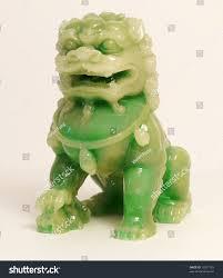 jade lion statue jade lion statue stock photo 13957129