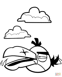 angry birds coloring pages blue bird coloring pages