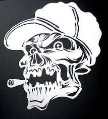 cas professional airbrush stencil skull 29 mind blown