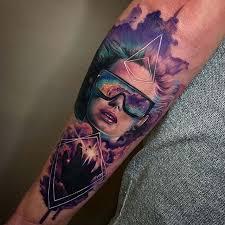 tattoo portrait watercolor style watercolor tattoos pinterest