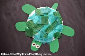 plate turtle kid craft