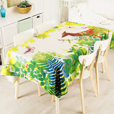 forest green table linens green forest deer butterfly linen thick pound tablecloth cafe