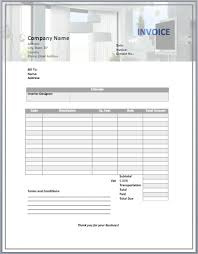 Company Of Interior Design by Interior Design Invoice Template Free Business Template