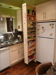 Narrow Kitchen Pantry Cabinet Pull Out Pantry Cabinets For Kitchen Ivernia