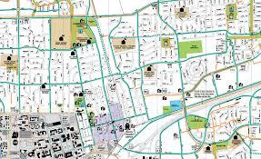 davis map bike map davis california trail rail corridor communities