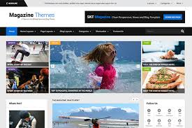 25 best free magazine wordpress themes 2017