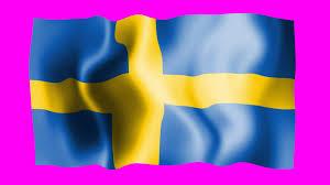 Sweedish Flag Sweden Waving Flag Green Screen Animation Youtube