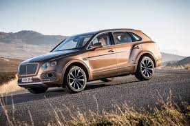 bentley bentayga truck the top 10 new trucks and suvs for 2017