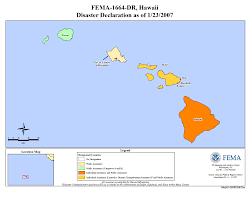 Earthquake Incident Map Hawaii Earthquake Dr 1664 Fema Gov