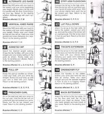 Bench Press Program Chart Home Weight Bench Workout Routine Eoua Blog