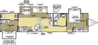 30 Ft Travel Trailer Floor Plans Wildwood Lodge 4022b Widebody Travel Trailer Homesteading