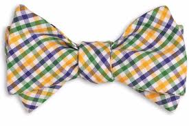 mardi gras bow tie mardi gras tattersall bow tie high cotton