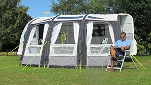Kampa Awnings Reviews Kampa Rally Ace Air 400 Large Inflatable Caravan Porch Awning