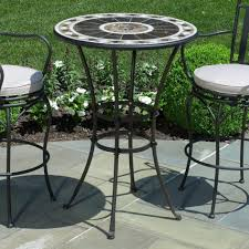 Patio Bar Height Table And Chairs Outside Patio Bar Sets Outdoor Furniture Bar Height Table And