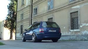 stanced volkswagen passat stance vw passat b5 variant youtube