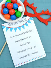 How To Make Birthday Invitation Cards At Home 15 Free Printable Birthday Invitations For All Ages