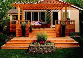 mobile home yard design wood deck design ideas beautiful roof deck ideas decking designs for