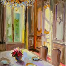 French Chateau Interior French Original Art Paintings Dailypainters Com