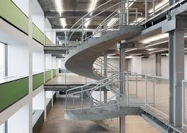 revamped sea containers house features open plan offices