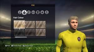 fifa 15 creating a virtual pro all boots hairstyles traits