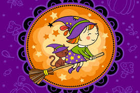 coloriage sorcières halloween sur hugolescargot com