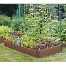small backyard veggie garden write teens