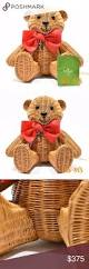 nwt kate spade wicker teddy bear handbag please note that there is