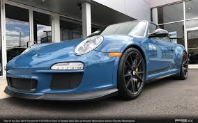 blue porsche 911 in market paint to sample oslo blue 2011 porsche 911 gt3 rs u2013 p9xx