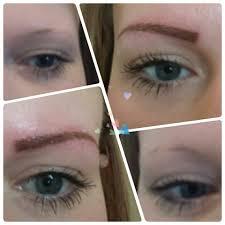 before u0026 after semi permanent eyebrow tattoo micro blading