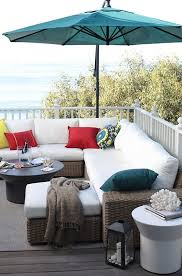 Outdoor Deck Furniture by Best 25 White Patio Furniture Ideas On Pinterest Outdoor