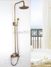 Bathroom Faucet And Shower Sets 2017 Brass Bathroom Shower Faucet Set Bronze Color From