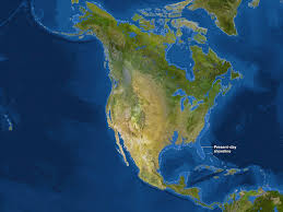 Ice Age Interactive Map My Blog by Map Of North America If All The Ice Melted Sea Level 66 M