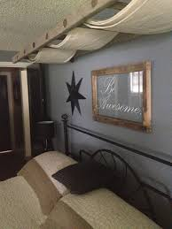 Girls Canopy Over Bed by Ladder Canopy Over Master Bed With Old Window Chalkboard For