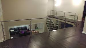 Chrome Banister Glasspros Ca Residential Custom Railings
