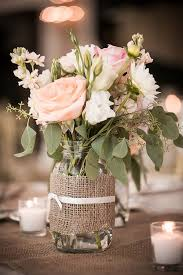 ideas for centerpieces jars with flowers for weddings kantora info