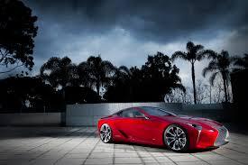 lexus lf lc gt vision lexus reveals lf lc hybrid coupe concept