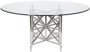 Round DiningKitchen Tables Cadieux Interiors Ottawa - Glass top dining table ottawa
