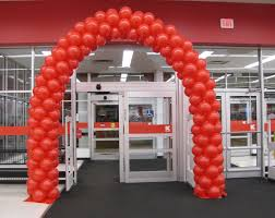 wedding arch kmart party event decorating company kmart grand opening arch