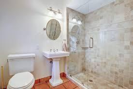vanity lights for bathroom 2 3 4 bathroom with rain shower head u0026 high ceiling zillow digs