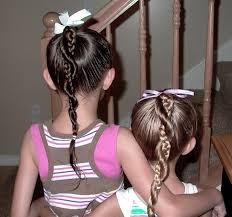collections of easy to do hairstyles for little girls cute