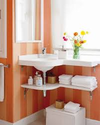 bathroom counter storage ideas white bathtub built in storage