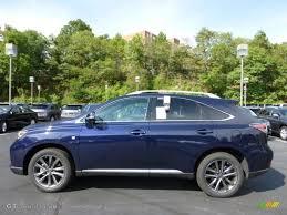 2013 lexus rx 350 interior colors 2013 sea blue mica lexus rx 350 f sport awd 71194059