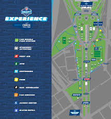 Nfl Tv Map Week 3 Here U0027s A Map Of The 2017 Nfl Draft Experience Cbs Philly