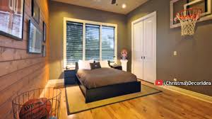 Cool Boys Bedroom Furniture Very Cool Boys Bedroom Ideas With Basketball Themes Wallpaper As