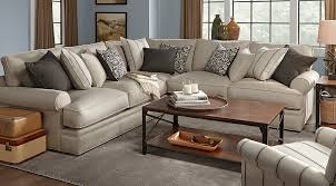 Cindy Crawford Savannah Bedroom Furniture by Cindy Crawford Home Lincoln Square Beige 3 Pc Sectional Rooms To