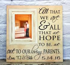 wedding gift parents wedding gifts for parents christmas gifts for parents of